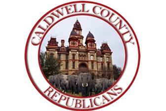 Caldwell County Republicans Logo