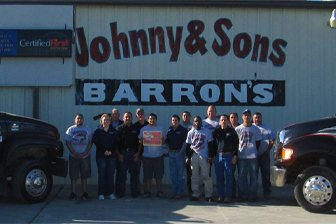 Johnny & Sons Paint & Body Logo