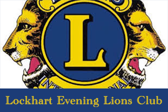 Lockhart Evening Lions Club Logo