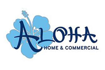 Aloha Home & Commercial Logo