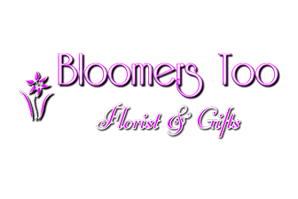 Bloomers Too Florist & Gifts Logo