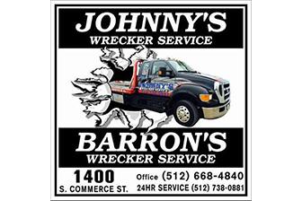 Johnny's Wrecker Service Logo